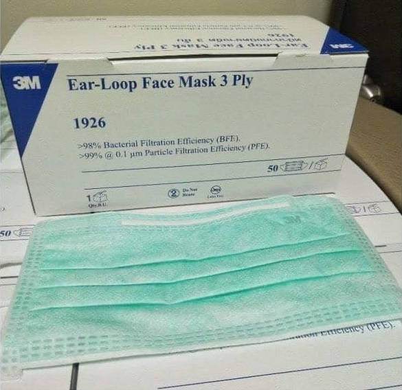 3m standard earloop face mask