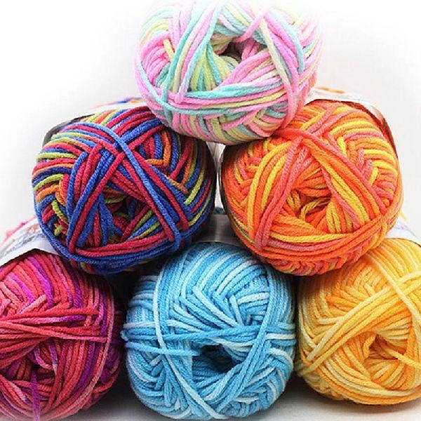 Dyed Cotton Wool Yarn