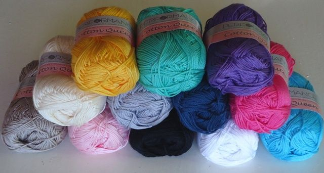 Mercerized Yarn