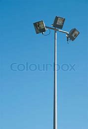 Flood Light Pole