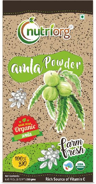 Nutriorg Certified Amla Powder