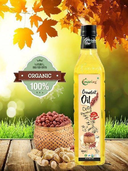 Nutriorg Groundnut Oil