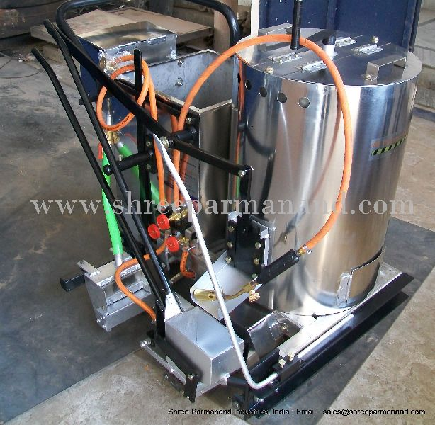 Thermoplastic Manual Road Marking Machine