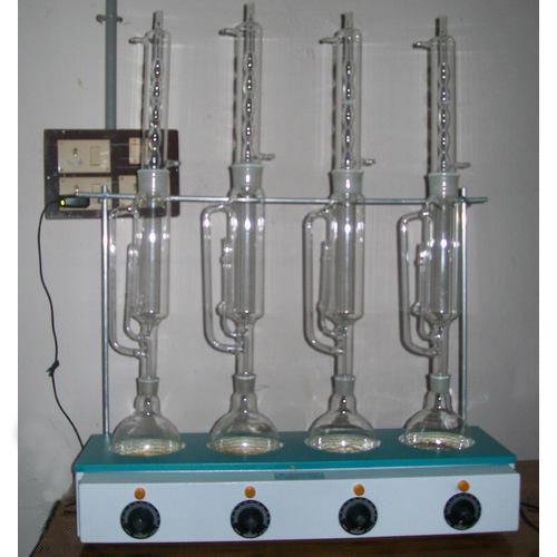 Cornsil Laboratory Soxhlet Apparatus with Heating Mantle