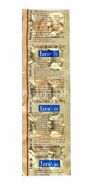 Esomiz 20mg Tablets (Esomeprazole 20mg)
