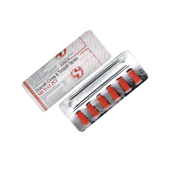 Sildalist Tablets (Sildenafil Citrate 100mg & Tadalafil 20mg)