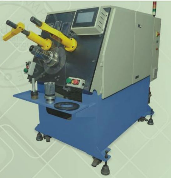 Automatic Coil & Wedge Inserting Machine