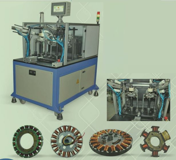 Automatic Dual Head Bldc Winding Machine