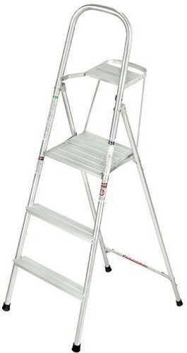 Aluminium 3 Step Ladder for Home & Office