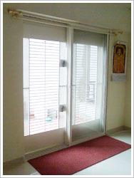 Double Panel Terrace Safety Door