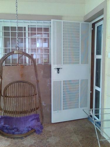 Single Panel Terrace Safety Door
