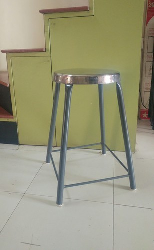 Metal Standing Stool