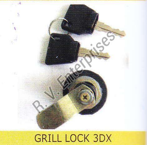 Steel Grill Lock