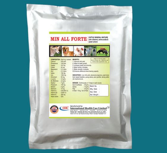 Min All Forte Veterinary Feed Supplement