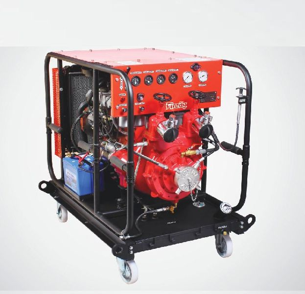 Cradle Mounted Fire Pump