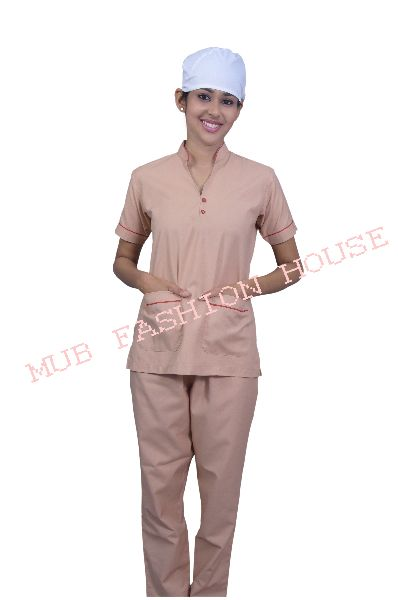 Light Brown Nurse Uniform