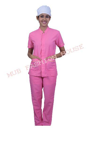Pink Nurse Uniform