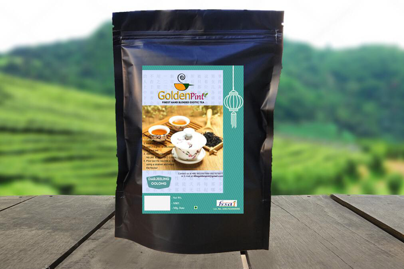 Golden Pint Oolong Tea