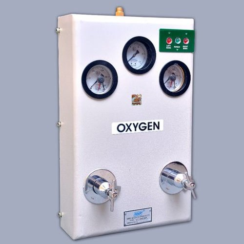 Semi Automatic Oxygen Gas Control Panel