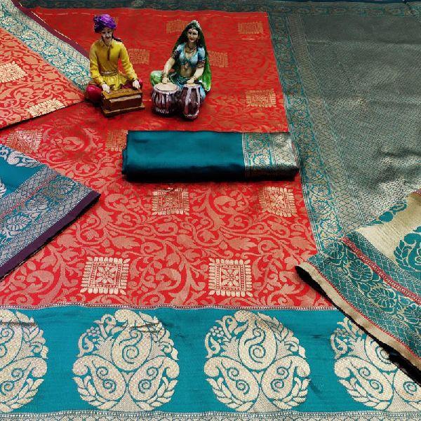 Banarasi Silk Jacquard Sarees