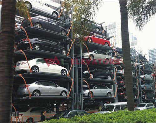 Rotary Car Stacker