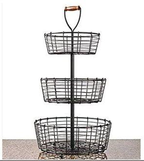 Wire 3 Tier Basket