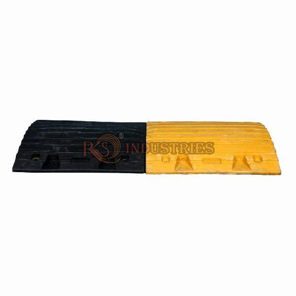Rubberized Speed Breakers 500 x 425 x 75 mm