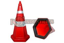 Hexagonal Traffic safety Cone