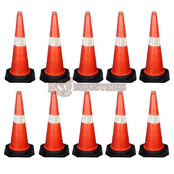 Pack of 10 Traffic Safety Cone