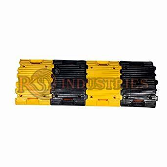 Pack of 1Mtr Plastic Speed Breakers