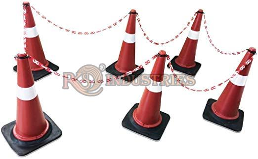 Pack of 6 Traffic Safety Cone