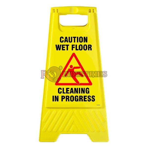 Yellow Floor Stand Sign