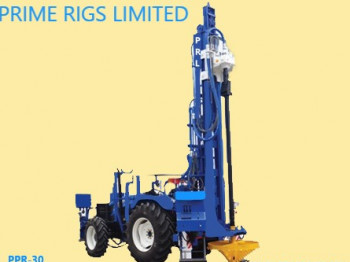 PDR Truck Mounted Mud Rotary Water Well Drilling Rig