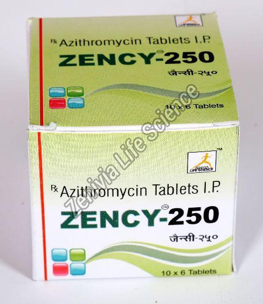 Zency-250 Tablets