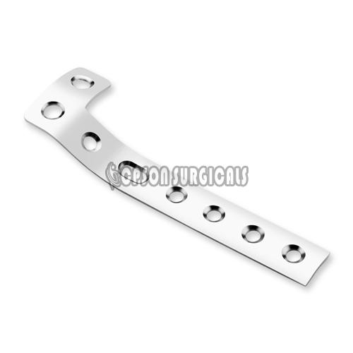 4.5mm L Shaped Buttress Bone Plate