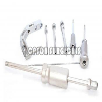 Orthopedic AO Type Humerous Interlocking Instrument Set