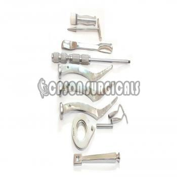 Orthopedic Modular Stem Bio Polar Instrument Set