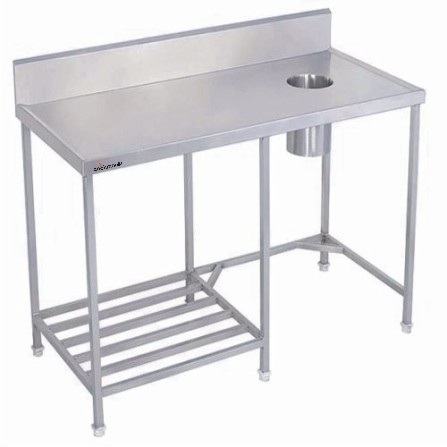 Stainless Steel Dish Landing Table