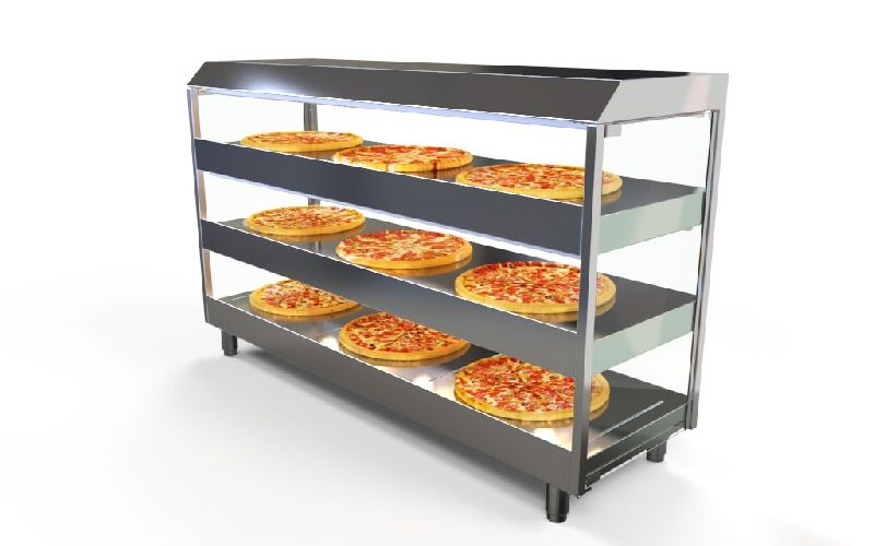 Stainless Steel Pizza Display Counter