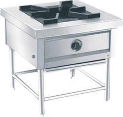 Stainless Steel Single Burner Cooking Range