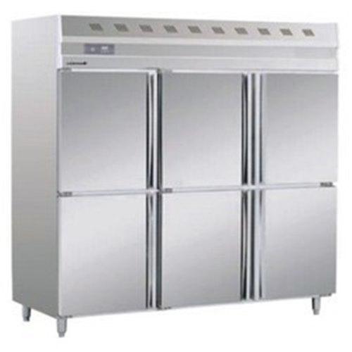 Stainless Steel Six Door Refrigerator