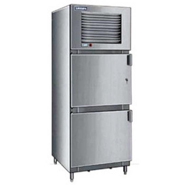 Stainless Steel Two Door Refrigerator