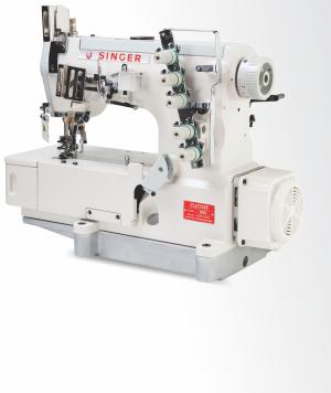 High Speed Direct Drive Flat Bed Interlock Sewing Machine