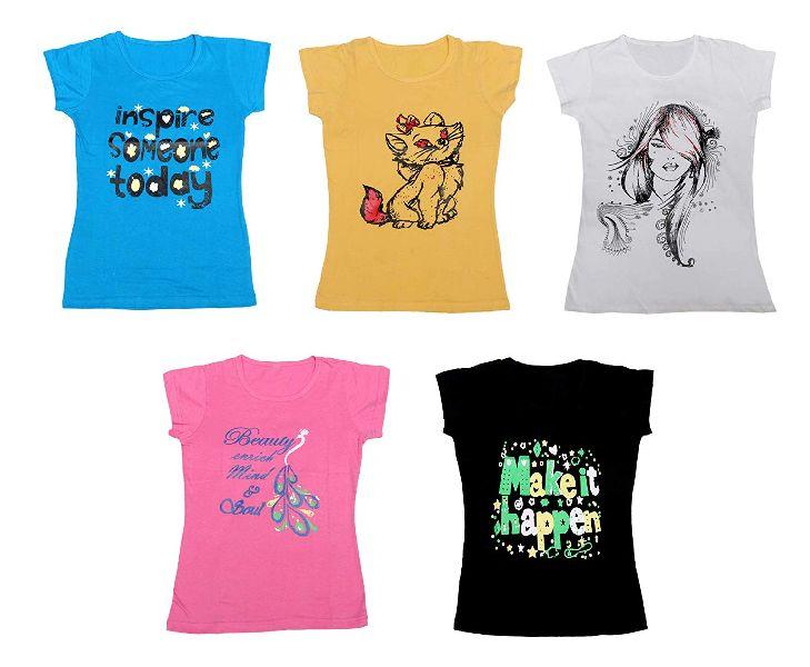 Girls Printed T-Shirts