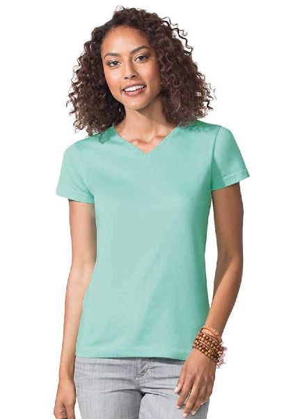 Ladies Plain T Shirts