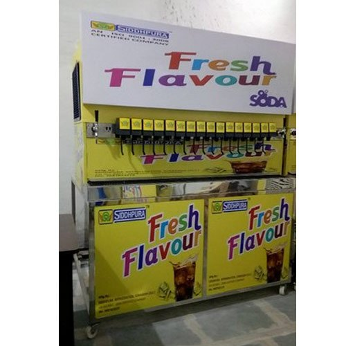 18 Flavor Soda Dispenser Machine