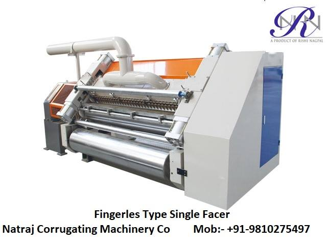 Nagpal Single Facer Fingerless Corrugated Machine