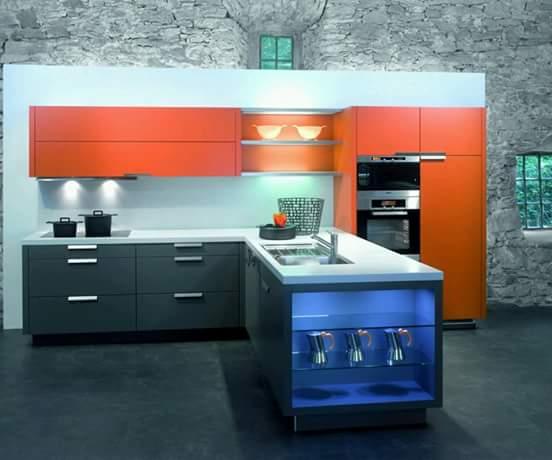 Modular Kitchen Cabinet 07