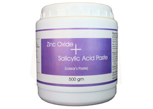 Zinc Oxide and Salicylic Acid Paste