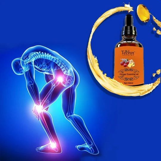 Ginger Oil Pain Relief